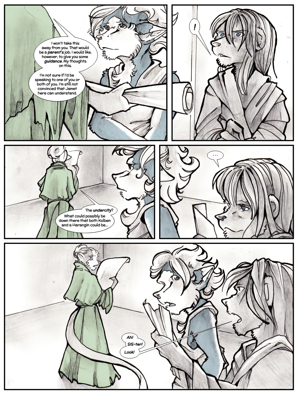 Chapter Three: Jamet's Story: Page 71