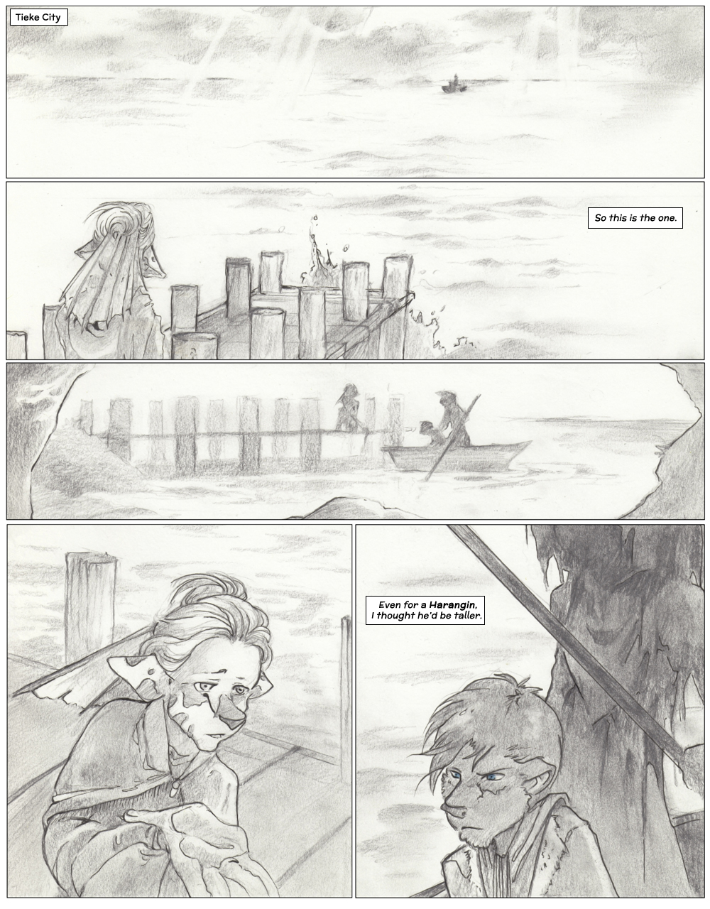 Chapter Three: Jamet's Story: Page 1