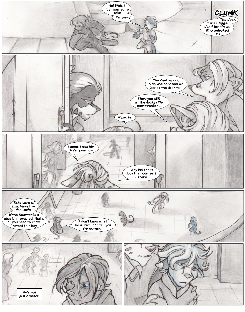Chapter Three: Jamet's Story: Page 9