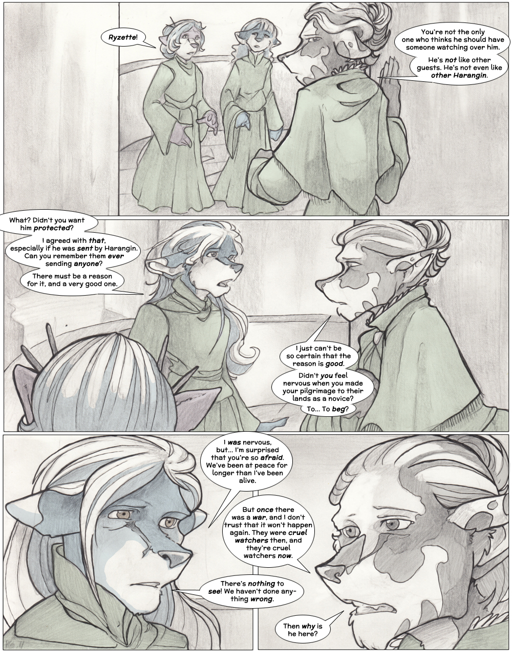 Chapter Three: Jamet's Story: Page 11