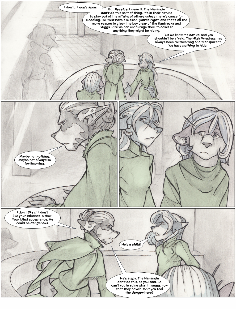 Chapter Three: Jamet's Story: Page 12