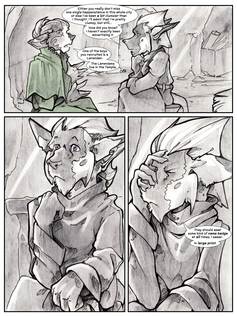 Chapter Three: Jamet's Story: Page 100