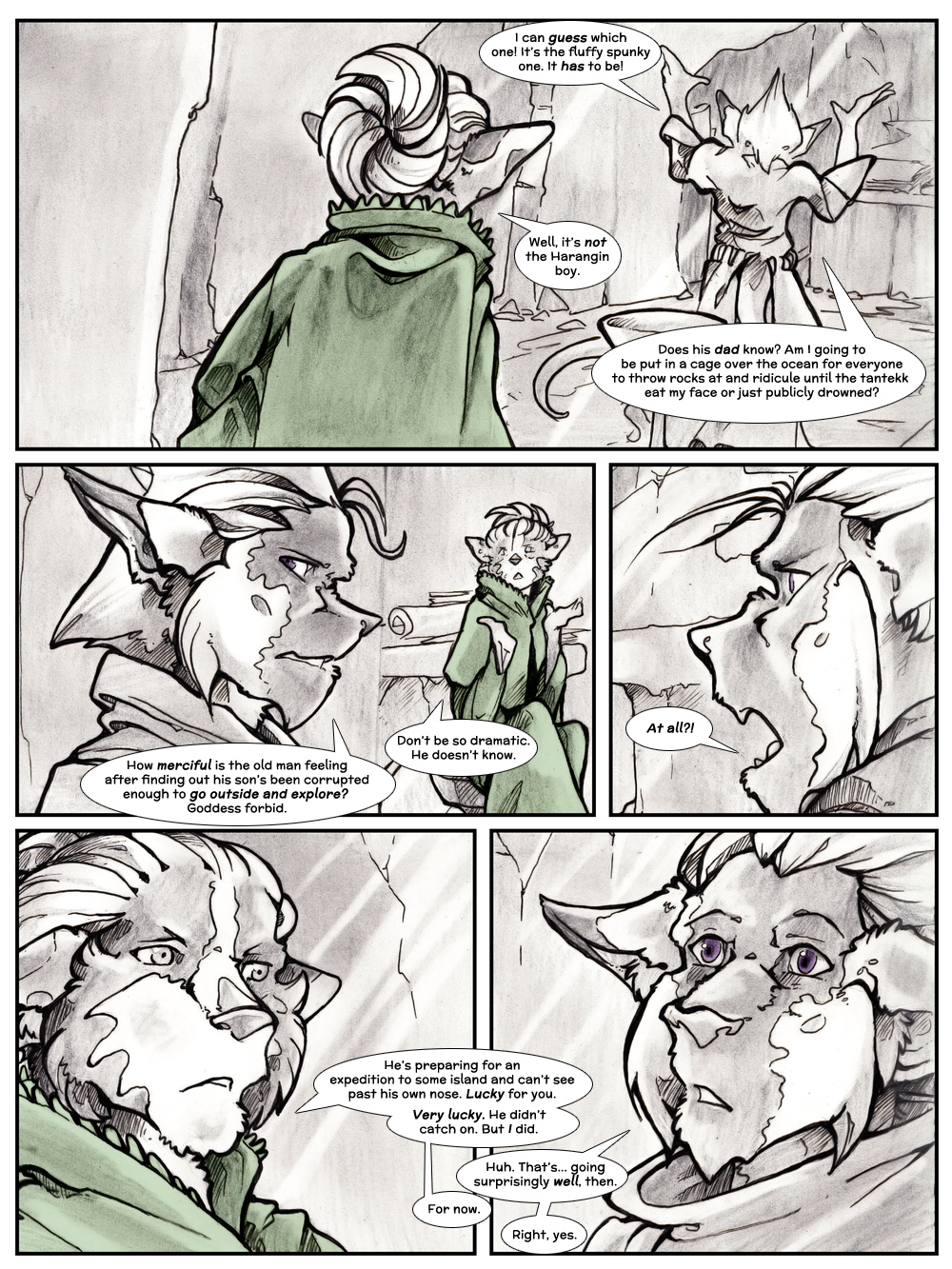 Chapter Three: Jamet's Story: Page 101