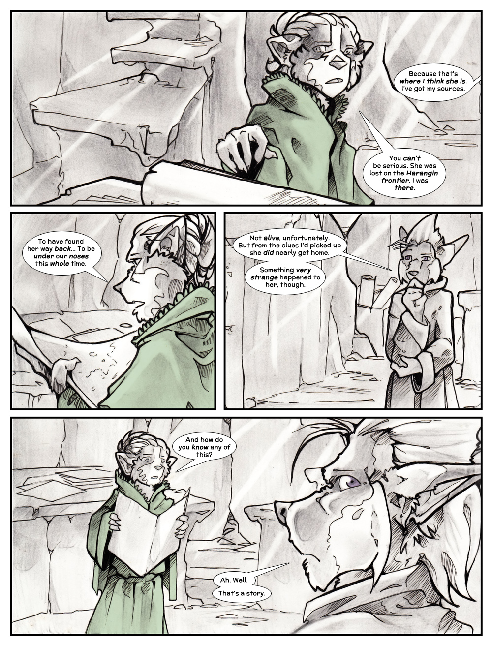 Chapter Three: Jamet's Story: Page 104