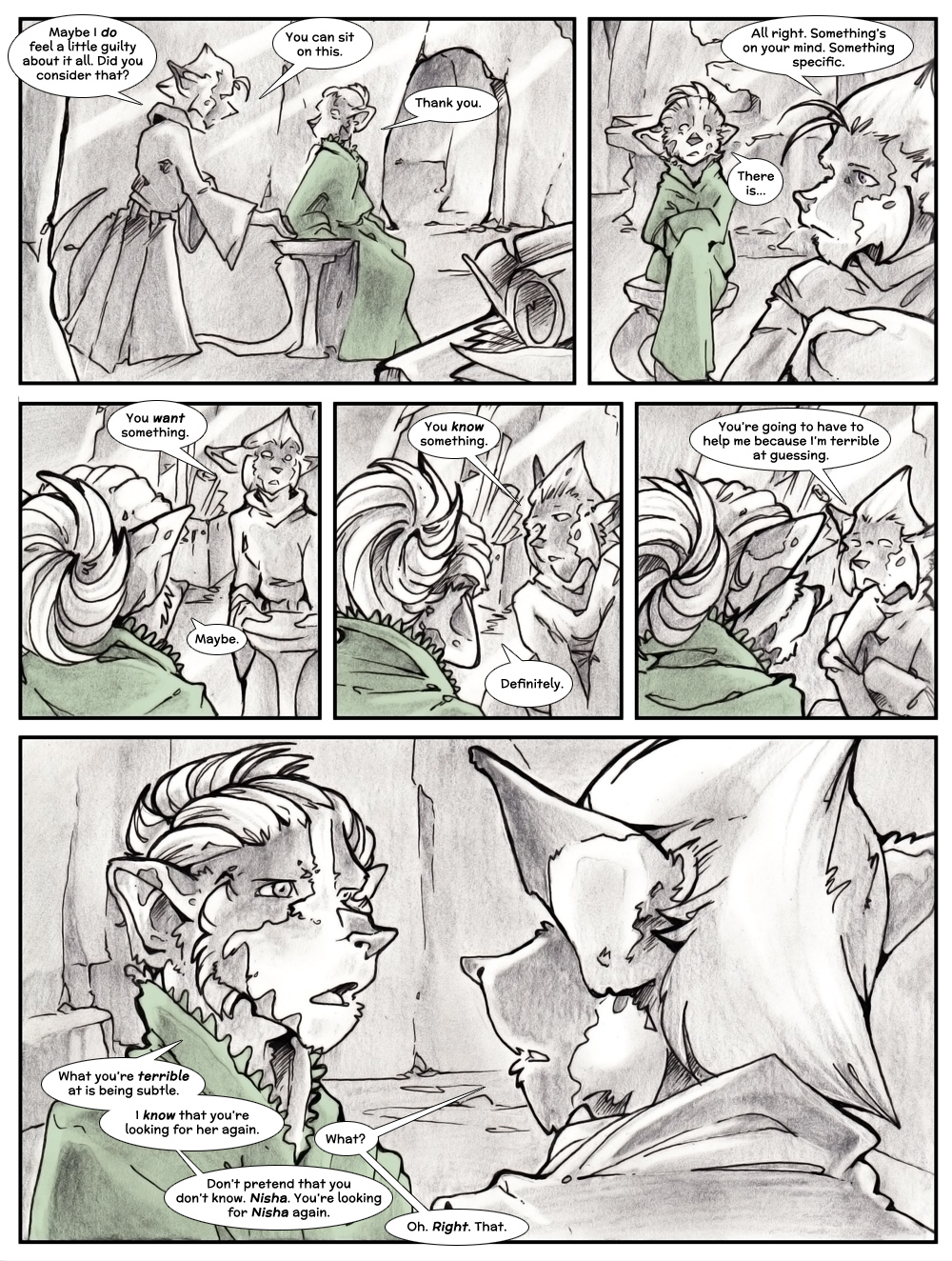 Chapter Three: Jamet's Story: Page 99