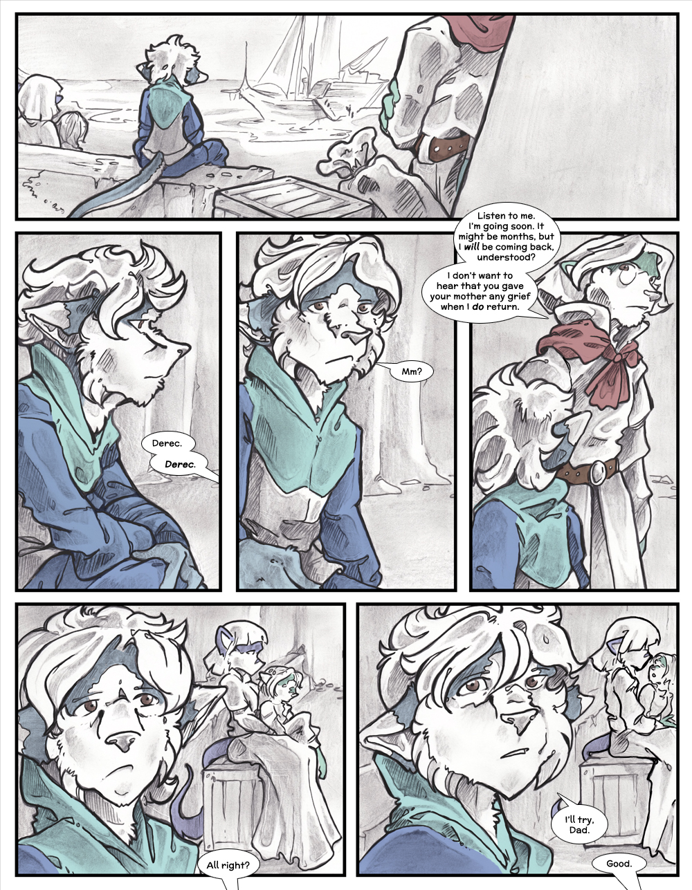 Chapter Three: Jamet's Story: Page 110