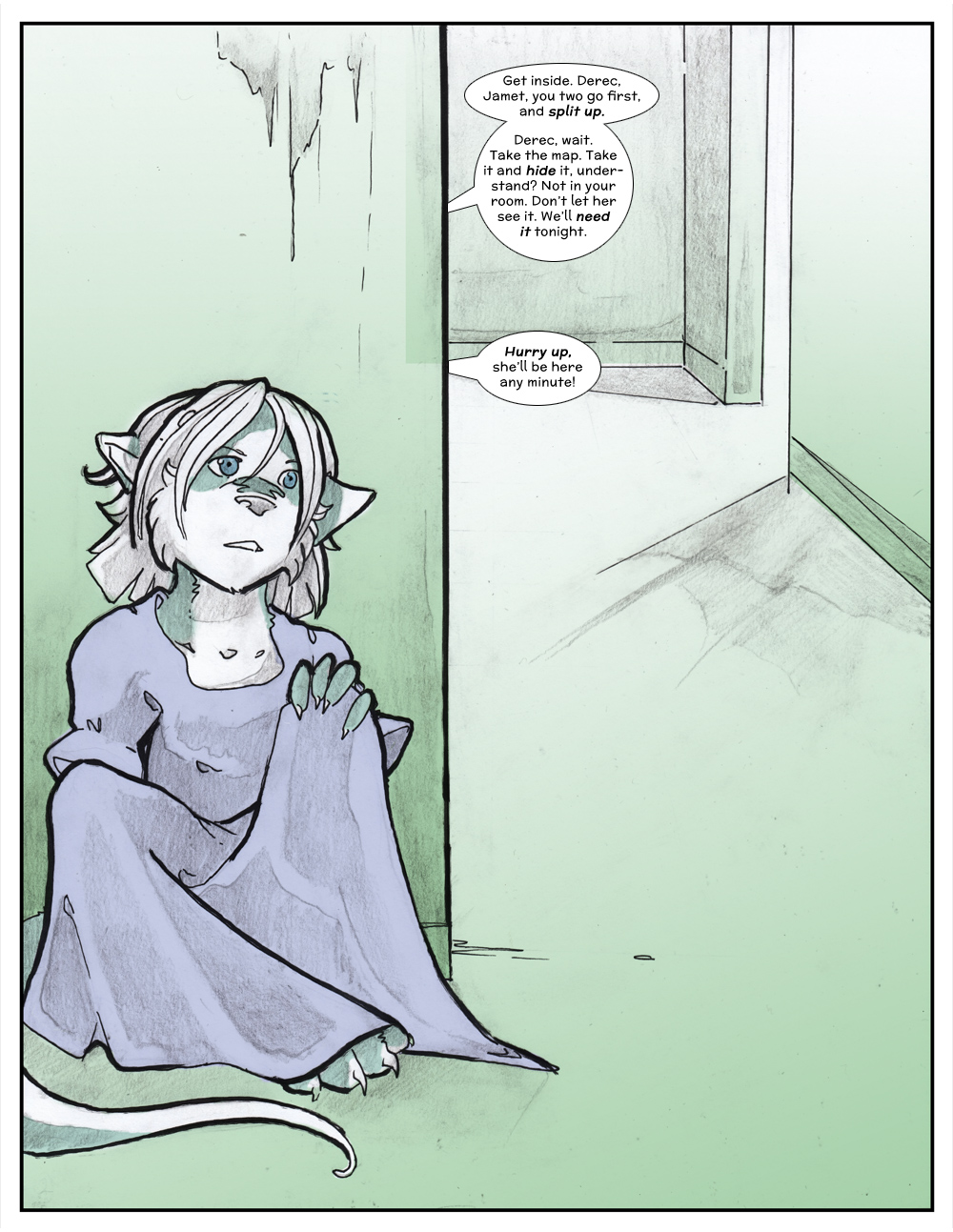 Chapter Three: Jamet's Story: Page 153
