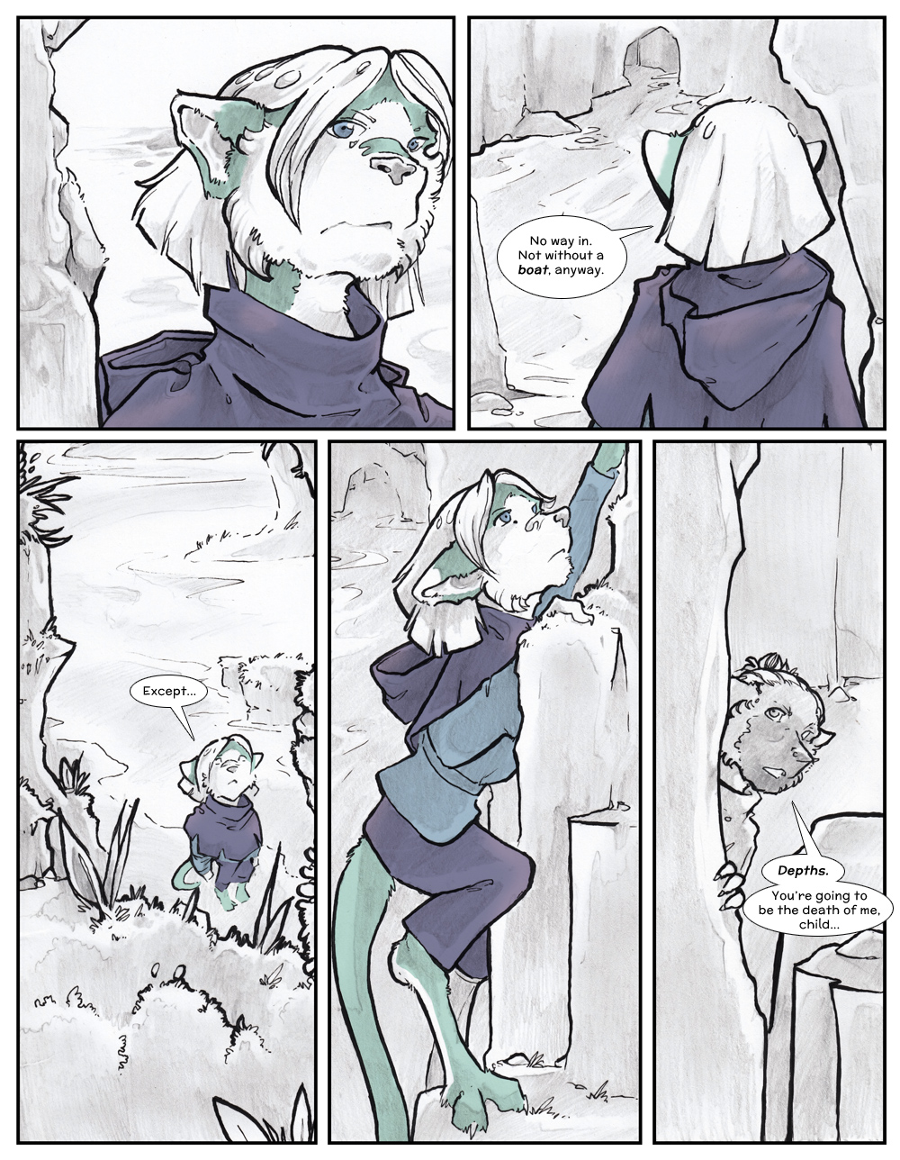 Chapter Three: Jamet's Story: Page 164