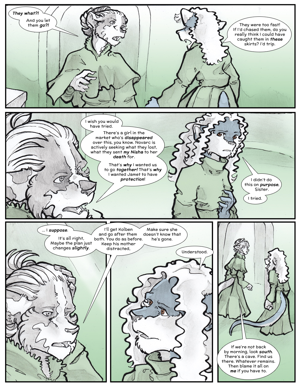 Chapter Three: Jamet's Story: Page 171