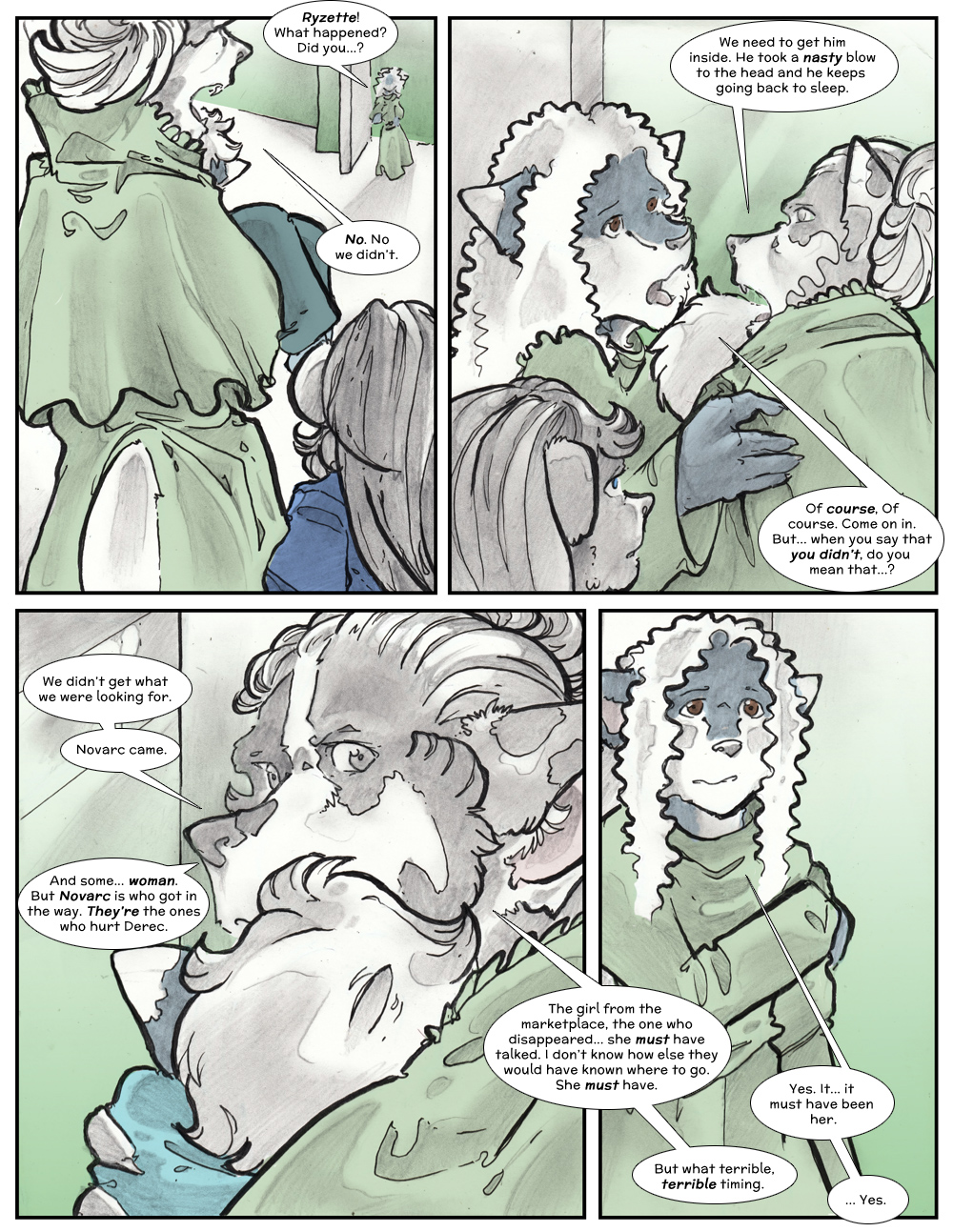 Chapter Three: Jamet's Story: Page 220