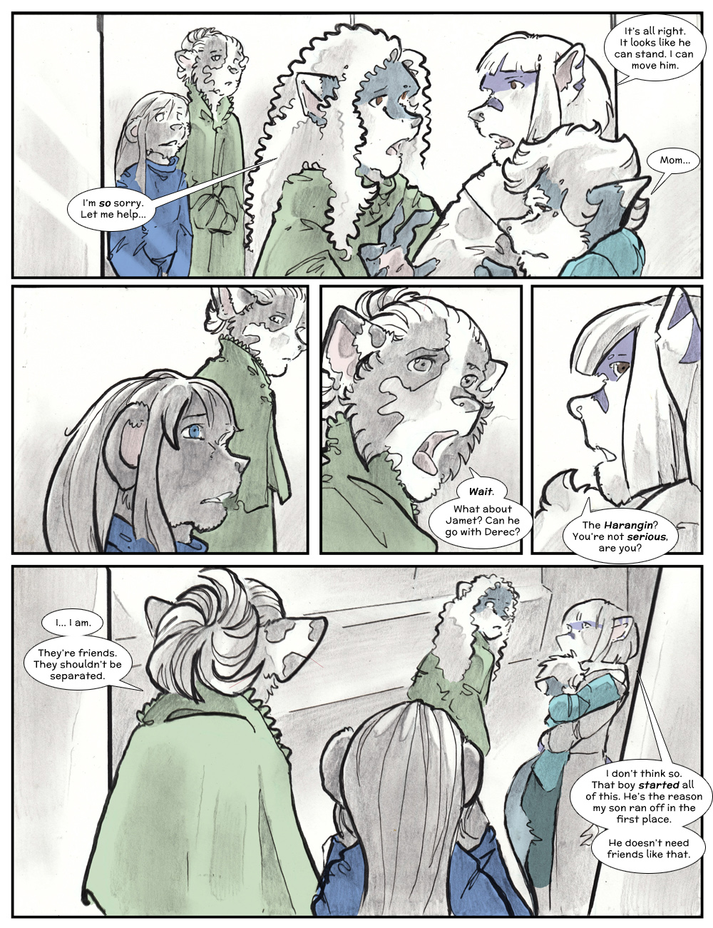 Chapter Three: Jamet's Story: Page 222