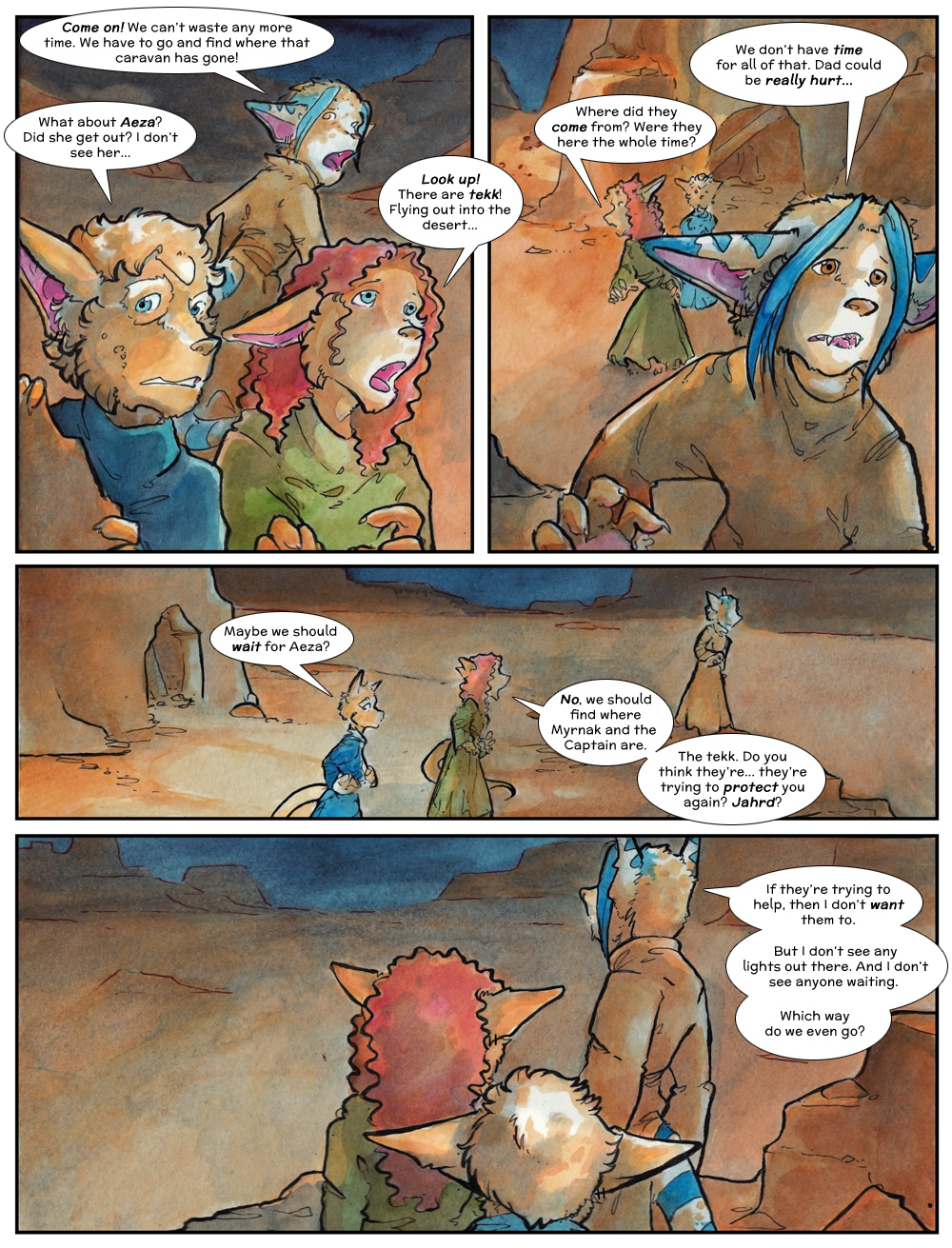 Chapter Three: Jahrd's Story: Page 231
