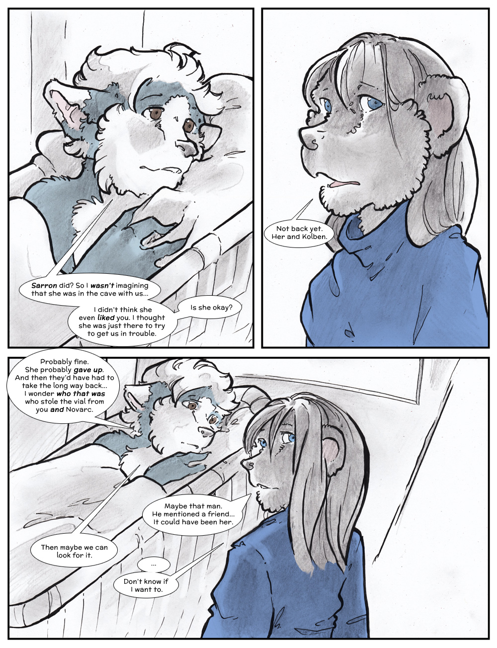 Chapter Three: Jamet's Story: Page 232