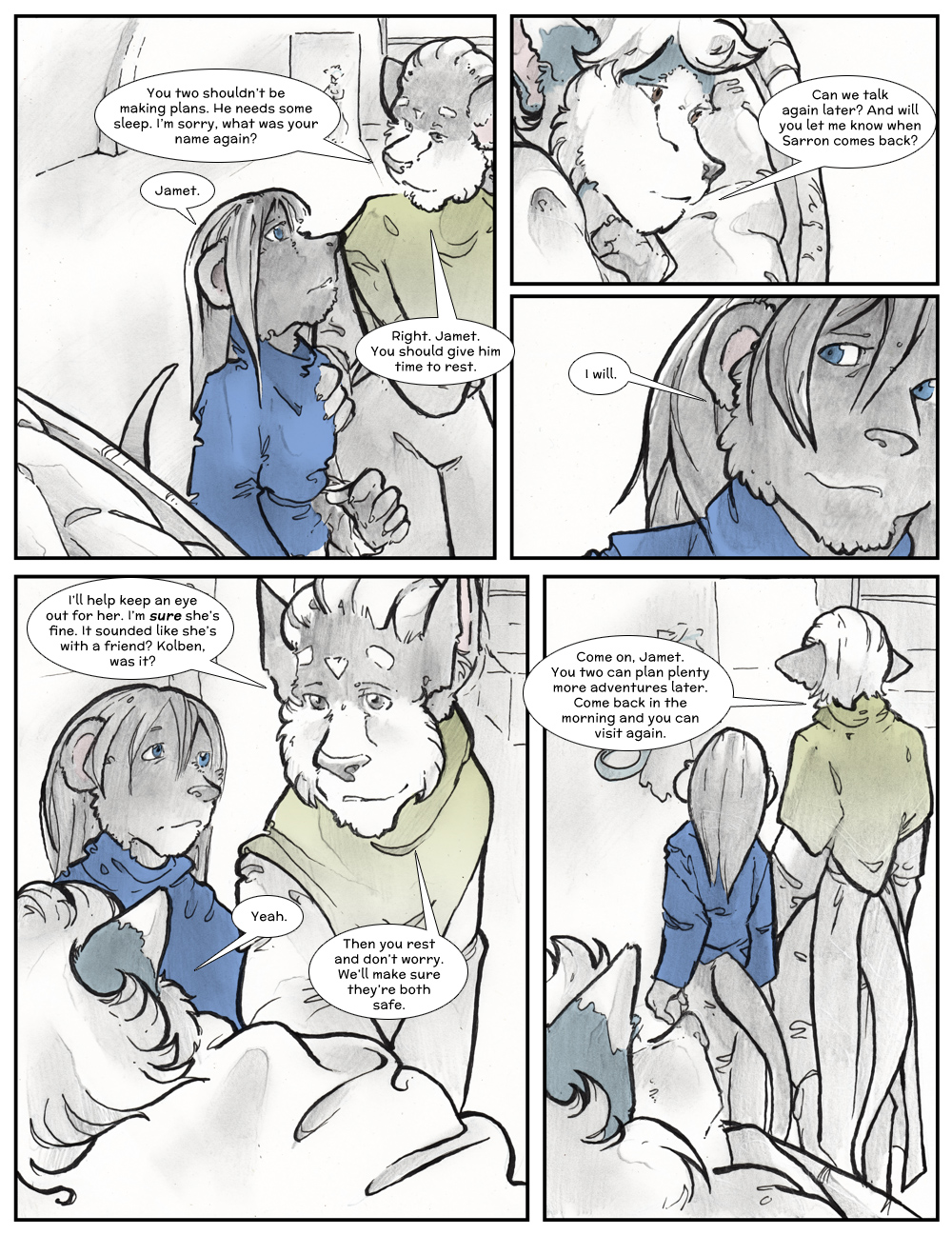 Chapter Three: Jamet's Story: Page 233