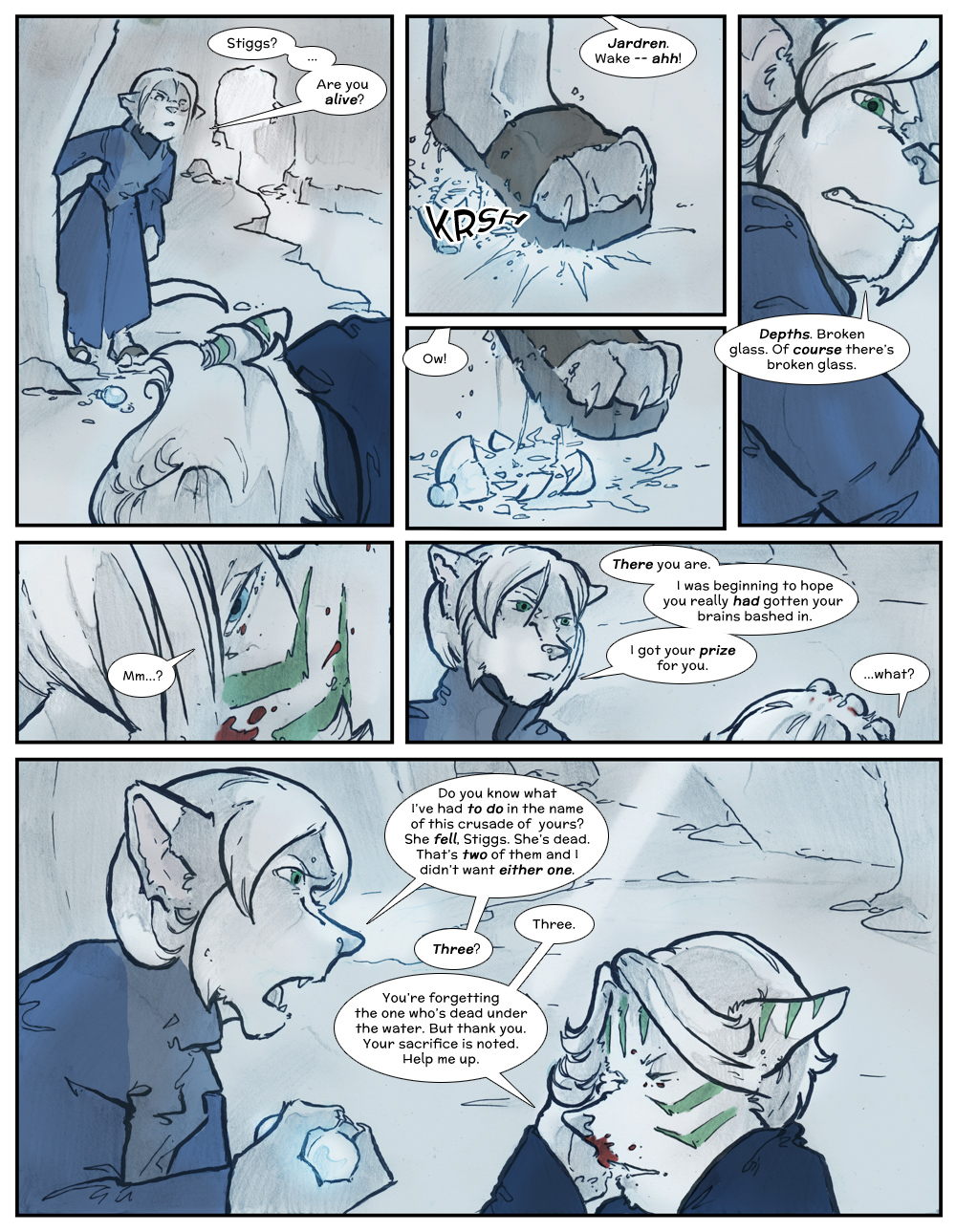 Chapter Three: Jamet's Story: Page 234