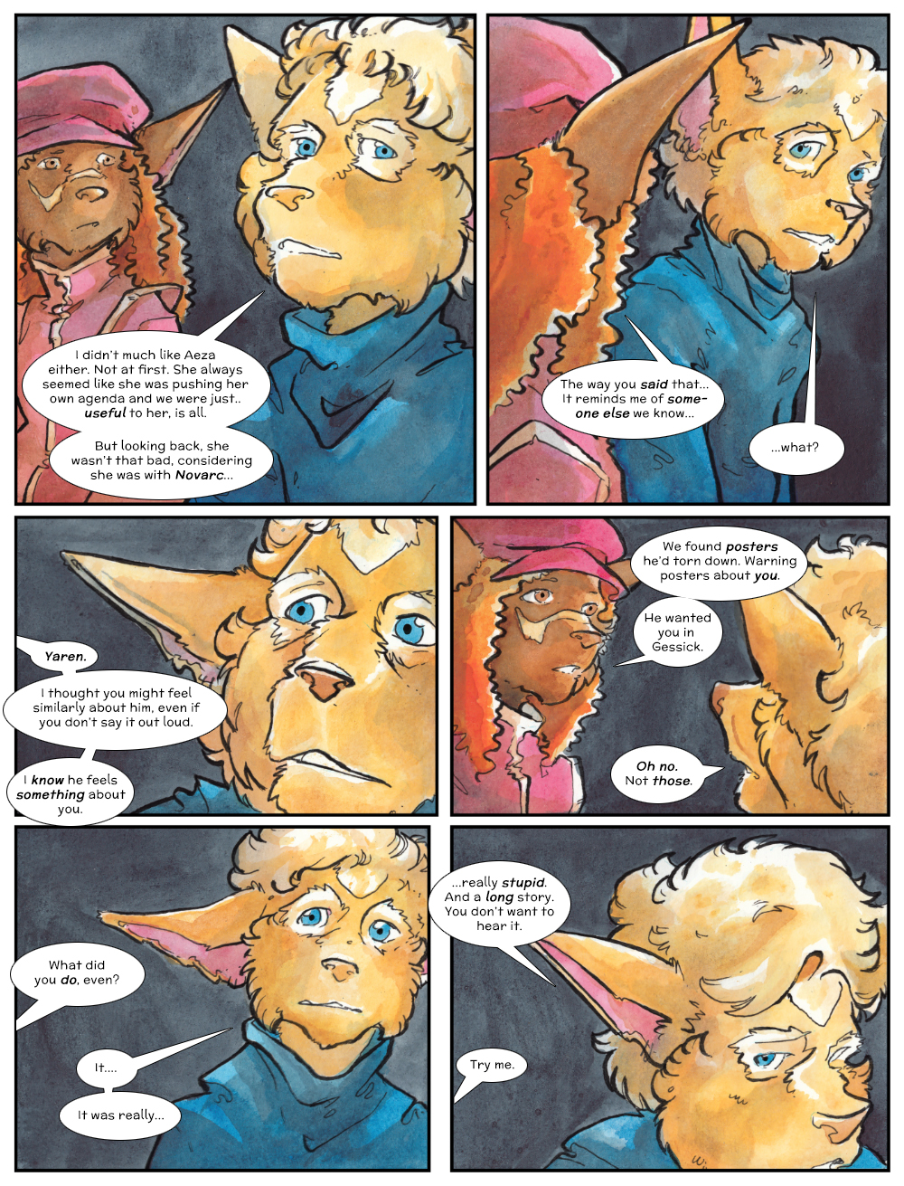 Chapter Three: Jahrd's Story: Page 240