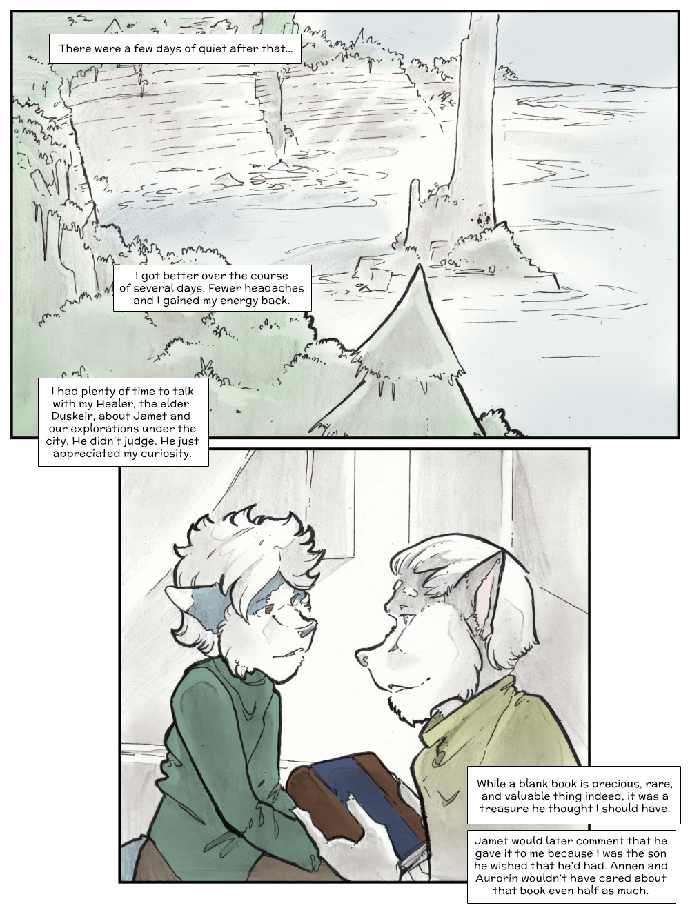 Chapter Three: Jamet's Story: Page 250