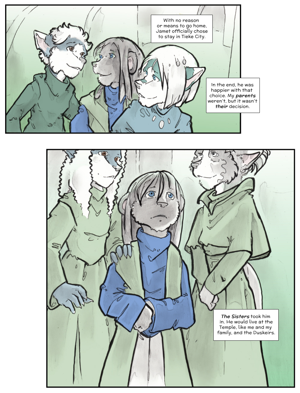 Chapter Three: Jamet's Story: Page 251